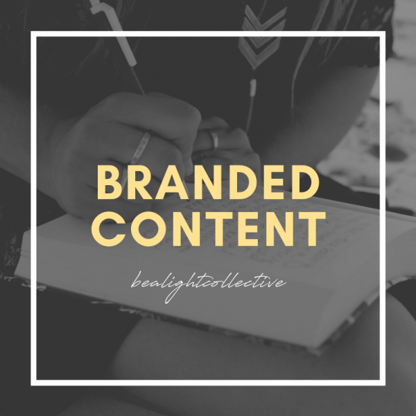 branded content writing services