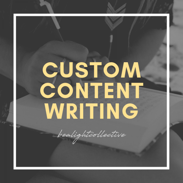 custom content writing