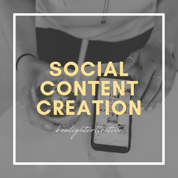 social content creation