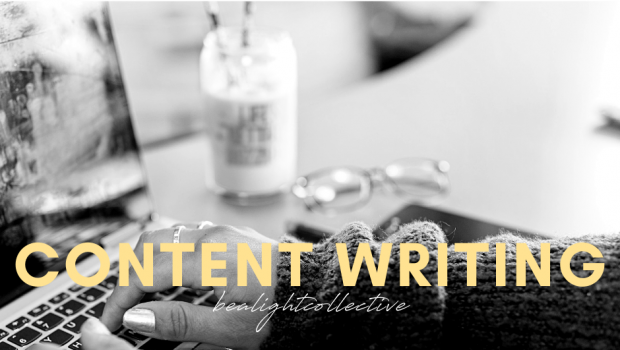 Content Writing, Be A Light Collective