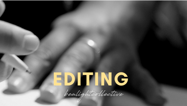 Editing Services, Be A Light Collective