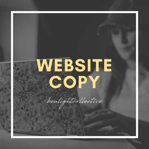 website copy writing and packages