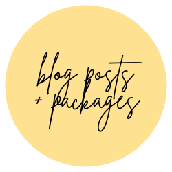 blog posts + packages - Be A Light Collective